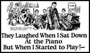 They Laughed When I Sat Down at The Piano